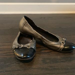 Attilio Giusti Leombruni Shoes - AGL Leather Ballet Flats
